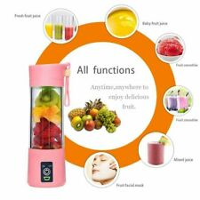380ml Portable Blender Machine Electric Juicer Mixer USB Rechargeable Blenders
