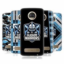 OFFICIAL GLASGOW WARRIORS 2019/20 LOGO BACK CASE FOR MOTOROLA PHONES 1