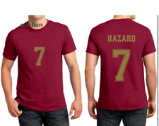 Real Madrid 2019 2020 Jersey HAZARD 7 Football Soccer Shirt Camiseta de Fútbol