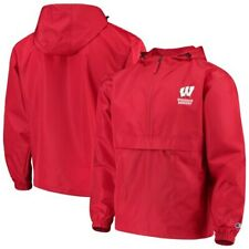 Wisconsin Badgers Champion Packable Jacket - Red