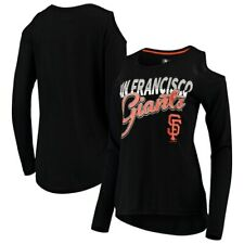 San Francisco Giants G-III 4Her by Carl Banks Women's Crackerjack Cold Shoulder