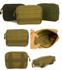 Outdoor Tactical Utility Military Waist Belt Pack Phone Pocket Pouch Bag Hiking