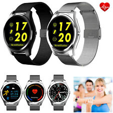 Touch Screen Bluetooth Smart Watch Sports Tracker Healthy Monitor For Smartphone