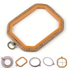 Durable Embroidery Hoop Cross Stitch Tool Plastic DIY Photo Frame Craft DIY New