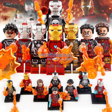 8pcs Iron Man Minifigure MK85 50 Thanos Thor Figure Lego Ninjago Minifigures