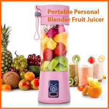 Portable Personal Blender Juicer Fruit Blend Rechargeable Cordless Squeezers