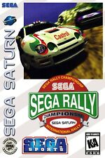 Sega Rally Championship Sega Saturn Box Art Poster Multiple Sizes 11x17-24x36