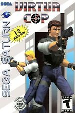 Virtua Cop Sega Saturn Box Art Poster Multiple Sizes 11x17-24x36