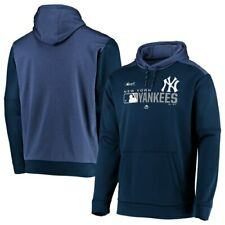 New York Yankees Majestic Authentic Collection Team Distinction Pullover Hoodie