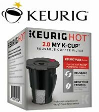 Universal Reusable Ground Coffee Filter Keurig My K-Cup fits All K-Cup Pod Maker