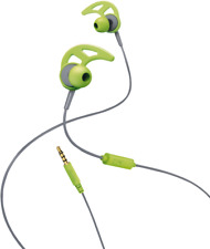 Artikelbild //  IN-EAR ST. HEADSET ACTION // HAMA // GRAU - GRÜN // NEU & OVP //