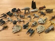 STAR WARS MICRO MACHINES 2015 - TOY OR CAKE TOPPER - FALCON TIE X WING - LOADS