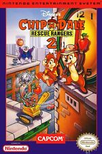 Chip and Dale Rescue Rangers 2 NES Box Art POSTER Multiple Sizes 11x17-24x36