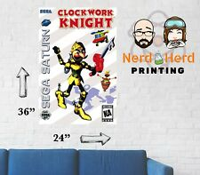 Clockwork Knight Sega Saturn Box Art Poster Multiple Sizes 11x17-24x36