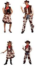 COWBOY / COWGIRL COW PRINT CHILDREN FANCY DRESS COSTUME