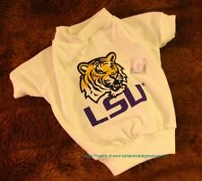 Louisiana Tigers LSU  NCAA Football Dog Tee Shirt