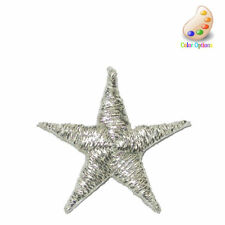 "Iron On Star Appliques 13/16"" 20 Pieces Color Options"