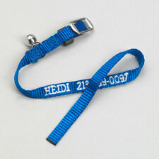 Personalized Embroidered Nylon Pet Cat Safety Collars