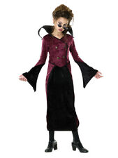 Baroness Vampire Twilight Scary Gothic Child Costume