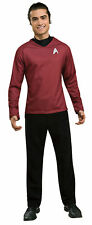Star Trek Movie Scotty Red Shirt Deluxe Adult Costume