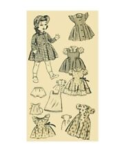 Vintage Doll Clothing Pattern #229