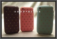 AUTHENTIC RARE JUICY COUTURE SOUP iPHONE 3 COVER CASE NEW