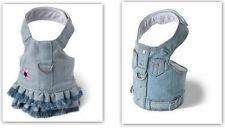 Denim Dog Harness by Doggles Blue Jean Style