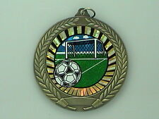 "2-3/4"" SUN Soccer Medal w/Ribbon Any Qty Ships Flat Rate $5.49 in USA"