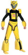 Bumblebee Transformers Animated Cartoon Dress Up Halloween Deluxe Child Costume
