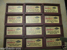 "WOOD SIGN YOU MIGHT BE A REDNECK SHADOW BOX MAGNETS ABOUT 4"" X 2.5"" NEW ITEM!"