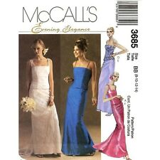 McCall's 3685 OOP Evening Elegance Gowns Pattern 8-14 or 16-22