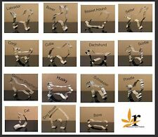 Dog Cookie Cutters Lab Schnauzer Poodle Dachshund Scottie Corgi Boxer Husky
