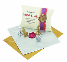 MINI WAX SEAL STAMP FOR SEALING WAX SILVER CHROME POST GIFT CARDMAKING DECORATE