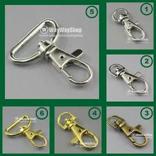 Metal Swivel Lobster Clasps Clips Snap lanyard New choose