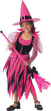 Barbie Sweet Sorceress Witch Black Pink Cute Dress Up Halloween Child Costume