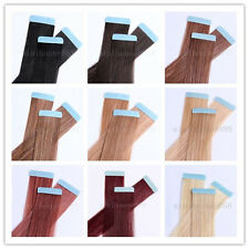 "One set of 20"" Remy Tape Skin Hair Extensions, 20pcs & 50g, 15 colors available"