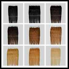 """One set of 16"""" Remy Tape Skin Hair Extensions, 20pcs & 30g, 9 colors available"""