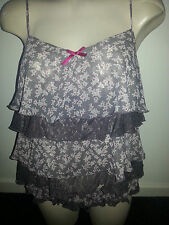 WINTER BELLE CAMI SET BY LA SENZA FREEPOST ASSORTED SIZES
