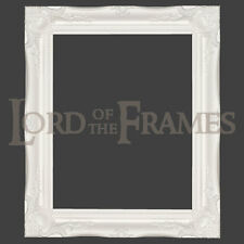 """3"""" White Shabby Chic Decorative Ornate Wood Swept Large Picture Frame 20x24"""""""
