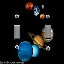 Light Switch Plate & Outlet Covers SOLAR SYSTEM PLANETS ASTRONOMY 01