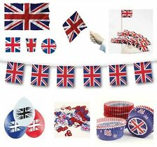 GREAT BRITAIN (Union Jack) Partyware/Decorations/Balloons (UJ){fixed £1 UK p&p}