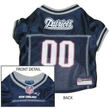 New England PATRIOTS BLUE MESH Pet Dog JERSEY with NFL PATCH XS S M L XL