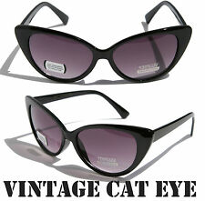 NEW Women Pointed Vintage Inspired Fashion Sexy Chic Cat Eye Sunglasses Mod 9633