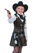 Kids Western Rodeo Cowgirl Girls Halloween Costume