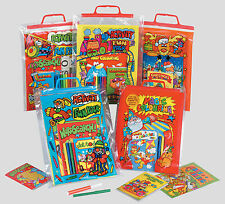 CARRY BAG ACTIVITY FUN PACKS PUZZLES MAGIC PAINTING WORD SEARCH COLOURING BOOKS