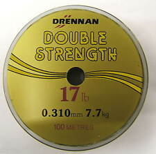 DRENNAN DOUBLE STRENGTH 100m SPOOLS ALL SIZES!!