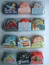 Range of Patterned/Themed CUPCAKE CASES (Fairy/Cup Cake/Baking)