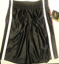 Simply For Sports Boys Basketball Black Shorts Sizes 5, 6, 7, 7X, 8