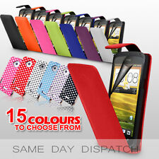 LEATHER FLIP CASE COVER FOR HTC ONE X S V + FREE SCREEN PROTECTOR