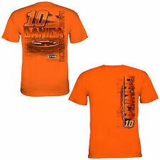 Danica Patrick Chase Authentics #10 GoDaddy.com Chassis Tee FREE SHIP!